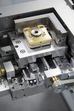 Laser-Stufe Stockfoto