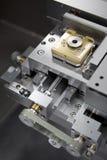 Laser-Stufe Stockbild