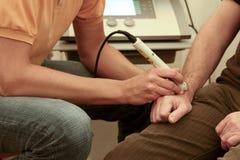 laser-terapi Royaltyfri Fotografi