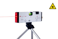Laser tool with beam Stock Images