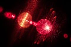 Laser-universum Royaltyfri Foto