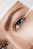 Laser-Visions-Korrektur lizenzfreie stockfotografie