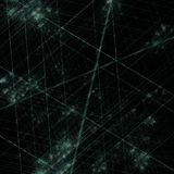Laser war, fractal generated background Stock Images