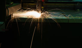 Laser welding Stock Photo