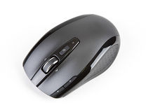 Laser Wireless Computer Mouse Royalty Free Stock Photo