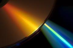 Laser y DVD Fotos de archivo libres de regalías