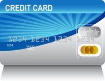 Laserbeam Credit Card Stock Photo