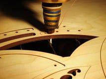 Laserbesnoeiing van triplex Royalty-vrije Stock Fotografie