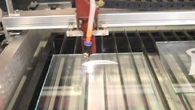 Lasercnc snijder stock videobeelden