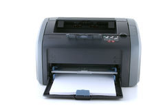 Laserdrucker Stockbild