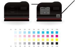 laserjet drukarka Fotografia Royalty Free