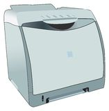 Laserjet laser printer for office Royalty Free Stock Photography