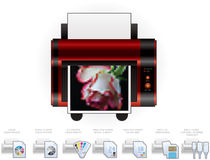 LaserJet Printer Royalty Free Stock Photos