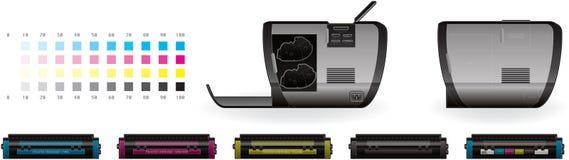 LaserJet Printer Stock Photo