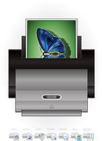 LaserJet Printer Royalty Free Stock Images