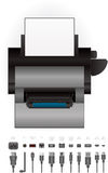 LaserJet Printer Royalty Free Stock Image