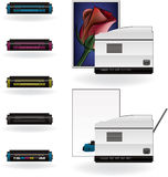 LaserJet Printer Stock Images