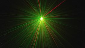 Laserlicht Royalty-vrije Stock Afbeeldingen