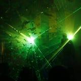 Laserlicht Lizenzfreies Stockbild