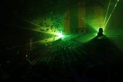 Laserlicht Lizenzfreie Stockbilder