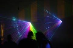 Laserlicht Stockfoto