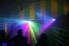 Laserlicht Lizenzfreie Stockfotos