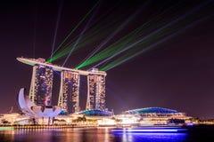 Laserlichten Royalty-vrije Stock Foto