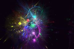 Laserowy przedstawienie obraz stock