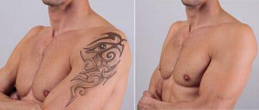Ręce Dorosłego Męskiego Tatuaż Obrazy Stock Obraz 2037994