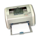 Laserprinter Royalty-vrije Stock Afbeelding