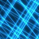 Lasers bleus Photo libre de droits