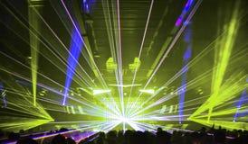 Lasers 3 do clube noturno Foto de Stock