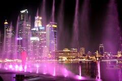 Lasershow, Σιγκαπούρη στοκ εικόνα με δικαίωμα ελεύθερης χρήσης