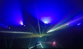 Lasershow Stockbilder