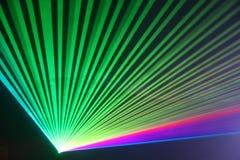 Laserstråle under partiet, händelse Arkivfoton