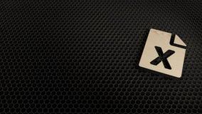 laseru rżnięty sklejkowy symbol kartoteka przoduje obrazy royalty free