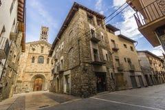 LaSeu d& x27; Urgell Lleida Arkivfoto