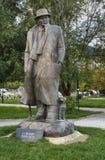 Lasgush Poradeci in Pogradec. Albania Royalty Free Stock Photo