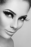 Lash extension Stock Photos