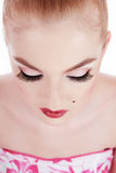 Lashes Royalty Free Stock Photography