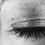 Lashes all day Royalty Free Stock Photography