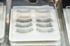Lashes set. False eyelashes collection. Woman beauty product False lashes realistic. Hand drawn female eyelashes. Trendy fashion stock photos