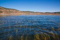Lashi lake landscape Royalty Free Stock Images