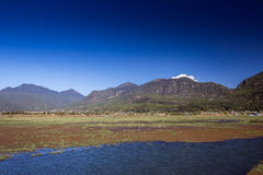 Lashihai湖,中国 免版税库存图片