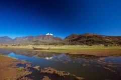 Lashihai湖,云南 免版税库存照片