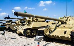Lashiryon, мемориальное место для упаденных израильских солдат танкового корпуса Latrun, Израиль Стоковые Изображения RF