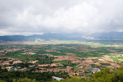 Lasithi-Hochebene auf der Insel von Kreta in Griechenland Lizenzfreie Stockfotografie
