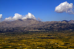 Lasithi plateau Fotografia Royalty Free