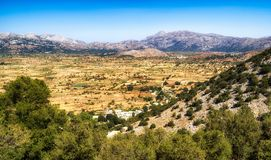 Lasithi plateau in Crete, Greece Stock Images