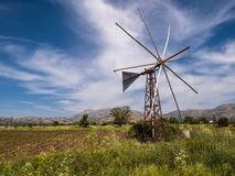 Lasithi Plateau in Crete, Greece Royalty Free Stock Photography